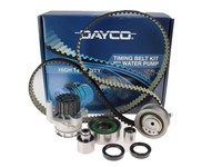 dayco belts. pump compromise your timing belt system replacement or reputation, ask for a dayco kit complete with water and know covered! dayco belts t
